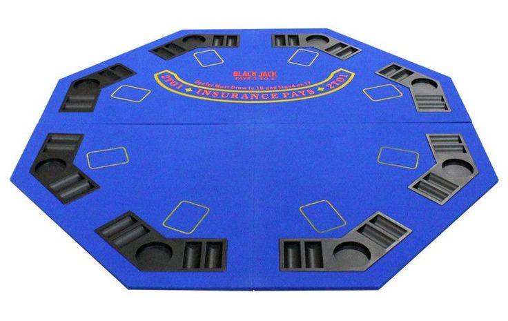 "48"" 4 Fold Octagon Poker/Blackjack Table"
