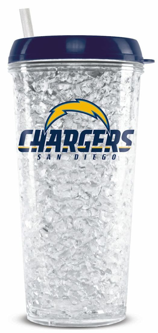 San Diego Chargers Crystal Freezer Tumbler