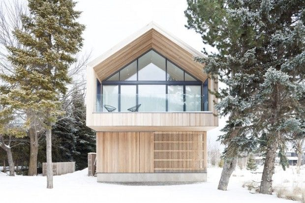 Maison Glissade par Atelier Kastelic Buffey - Journal du Design
