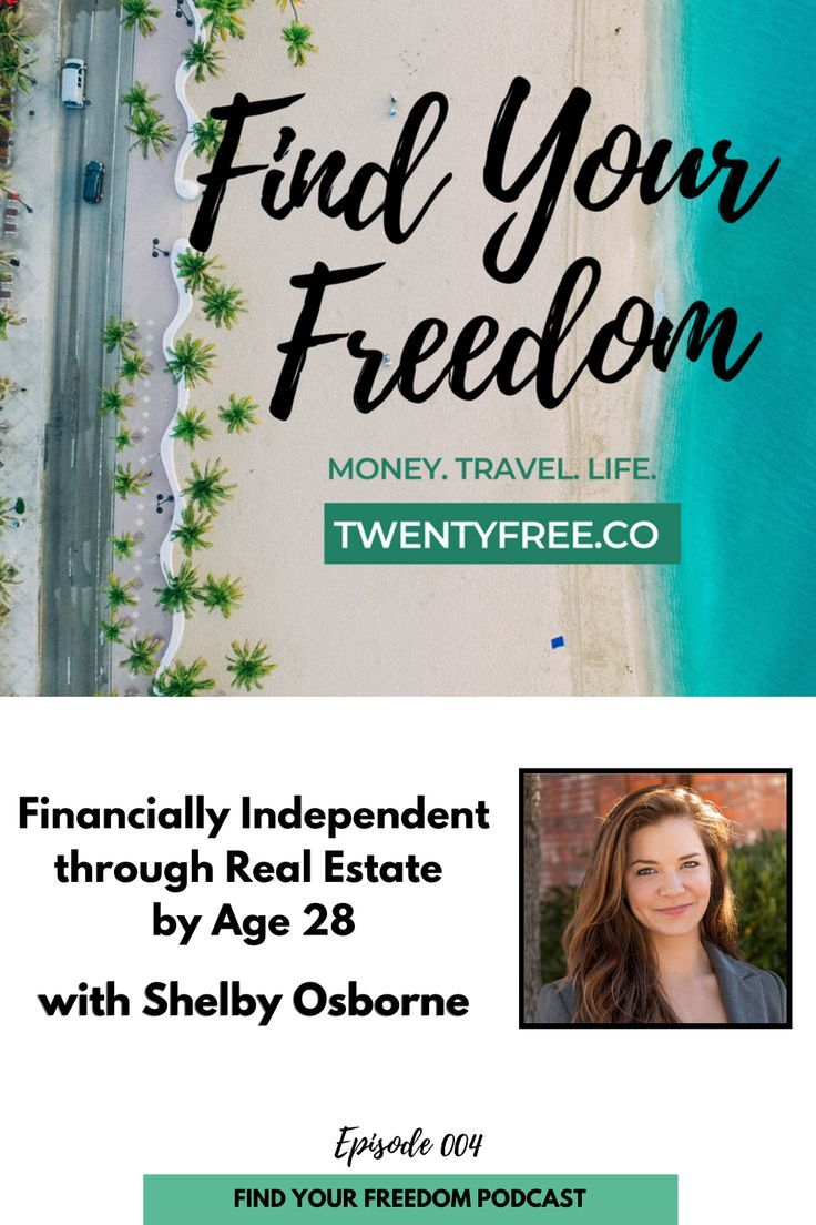 Fyf 004 Financially Independent Through Real Estate By Age 28 With Shelby Osborne Budgeting Money Advice Investing