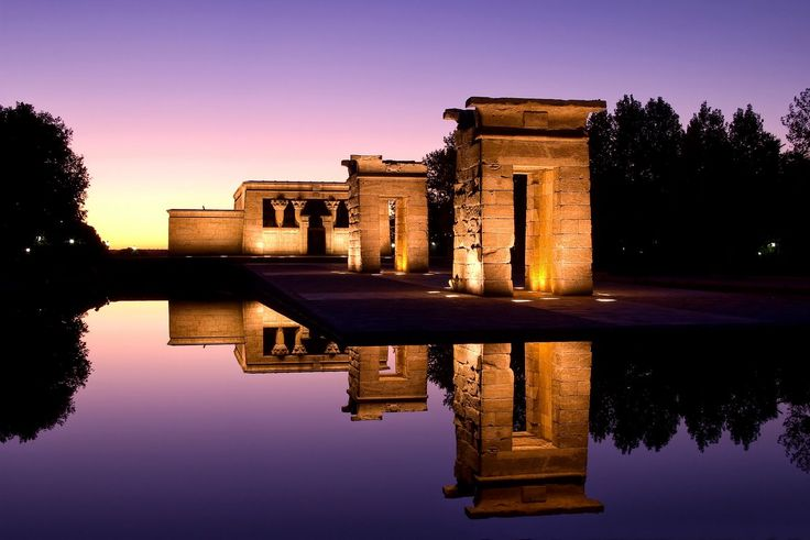 temple of debod - Google Search