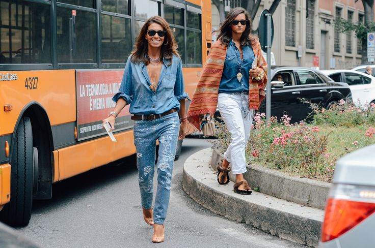 Wear denim.