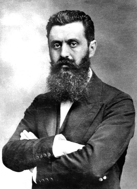 """Theodor Herzl (1860-1904) found in """"Visionaries of Hope,"""" a factual article about the modern nation of Israel."""