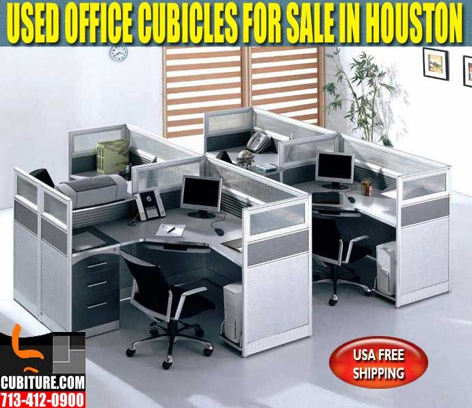 Used Office Cubicles In Houston For Sale CUBITURE.COM – YOUR SOURCE FOR NEW & USED OFFICE FURNITURE. Call Us For A FREE Quote 713-412-0900 OR Visit Our Office Furniture Showroom Located On Beltway-8 between West Little York & Tanner Rd. On The West Side Of Beltway-8 In Houston, Texas Cubicles are typically no small investment. So it only makes sense to save as much as you can, when you can, to help keep the budget intact.