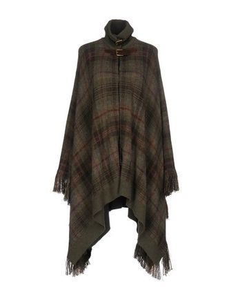 RALPH LAUREN COLLECTION Women's Capes & ponchos Military green XS INT