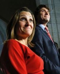Freeland should know given it's similarity to the Liberal Party's immigration policy…