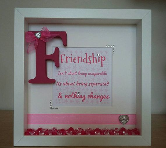 Friendship Picture Frames With Quotes: 25+ Unique Framed Words Ideas On Pinterest