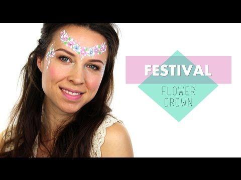 Festival Flower Crown - YouTube
