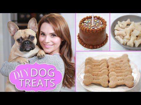 DIY DOG TREATS - YouTube