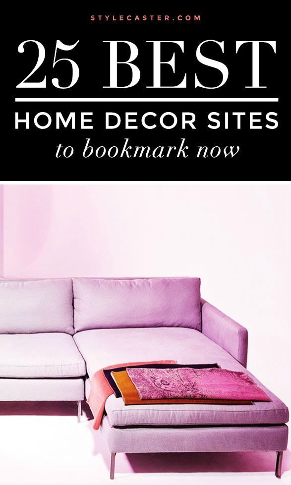 Major Interior Design Inspo | For the BEST apartment decorating ideas check out these home decor sites, stat! @stylecaster