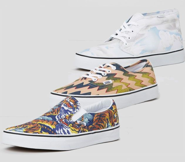 Kenzo x Vans collection (Fall 2013)