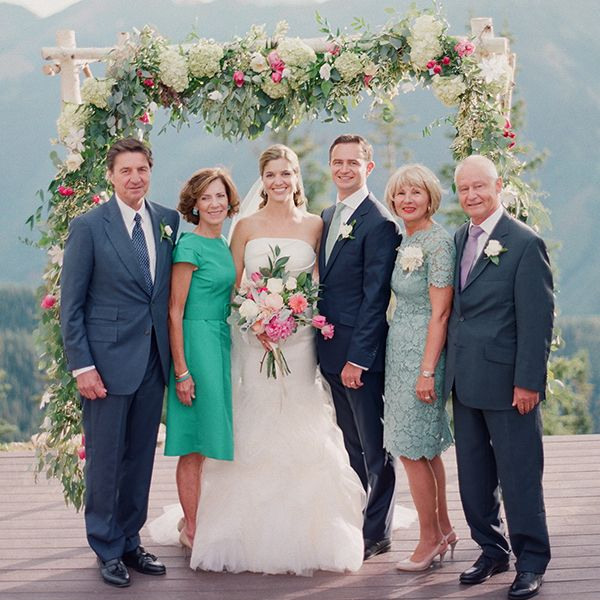 Gorgeous Mother-of-the-Bride (and Groom) Dresses From Real ...