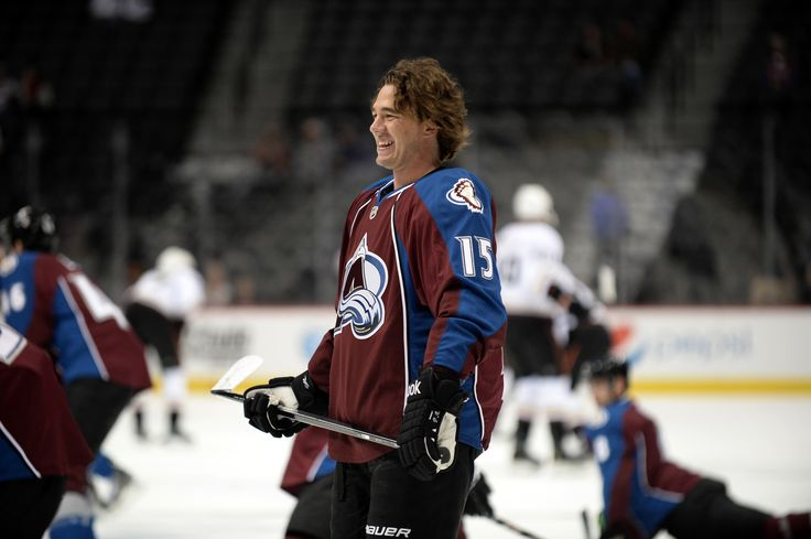 CrowdCam Hot Shot: Colorado Avalanche right wing P.A. Parenteau reacts during warms drills before the start of a preseason game against the Anaheim Ducks at Pepsi Center. Photo by Ron Chenoy