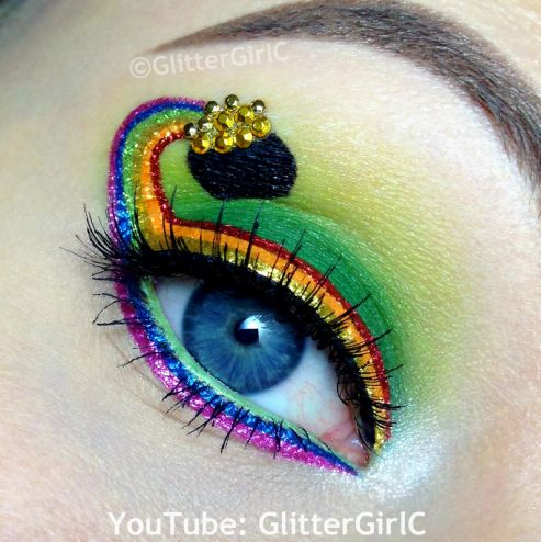 St. Patrick's day makeup. Youtube channel: full.sc/SK3bIA