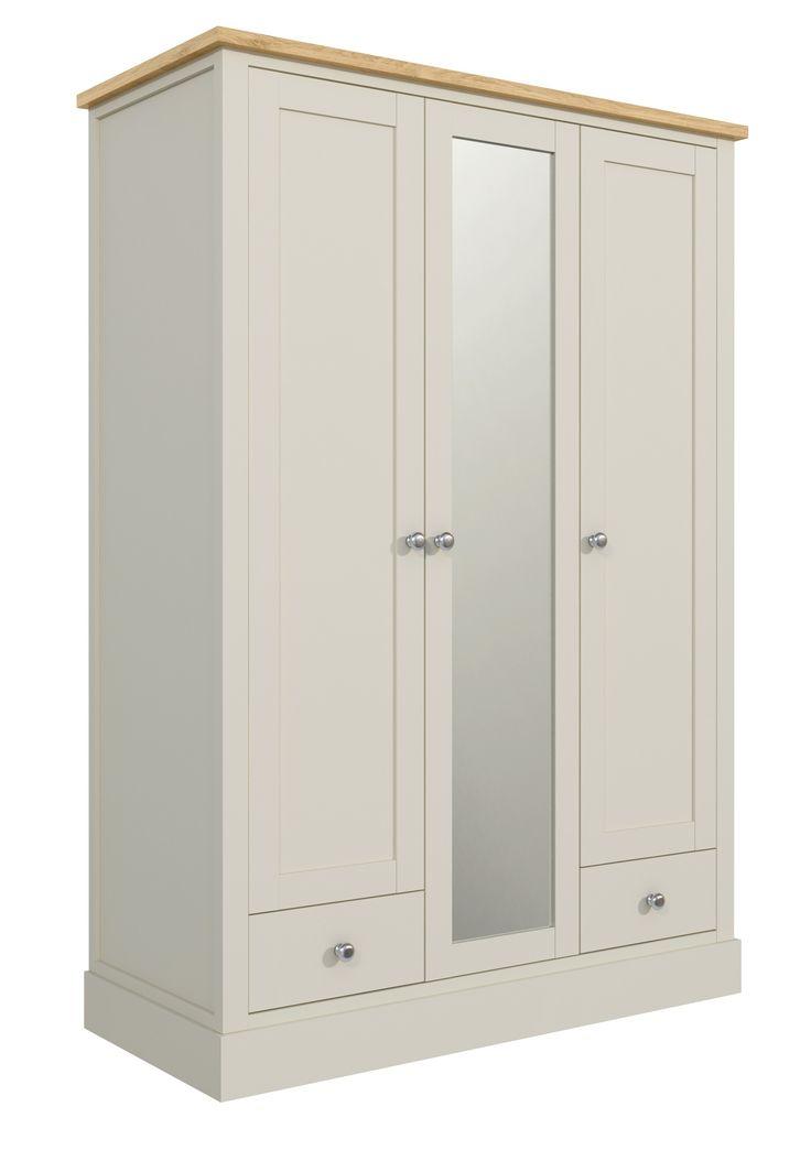 Szafa trzydrzwiowa 73 - Wspaniała i pojemna szafa do sypialni. Ta 3 drzwiowa szafa z rodziny mebli FLORENCE, w wyjątkowo udany sposób łączy gustowny, prowansalski styl z wysoką funkcjonalnością i praktycznością. Ustawiona w sypialni przy państwa łóżku będzie sprawiała niezwykłe wrażenie.