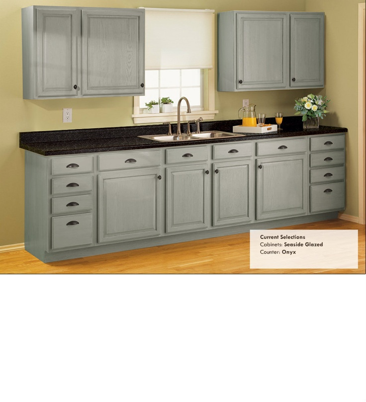 Kitchen Cabinets Affordable: The Dark Counter Kind Of