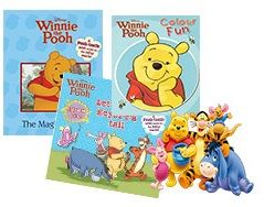 An incredible saving on this Winnie the Pooh pack for ONLY R99!