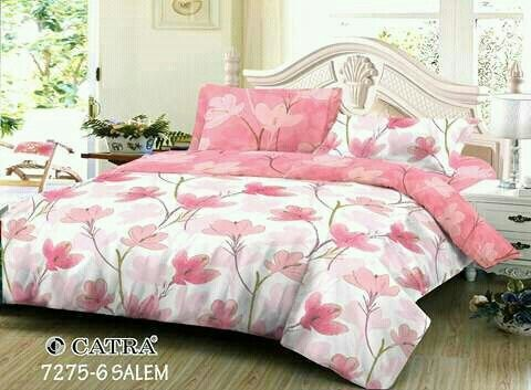 Sprei custom bahan Katun Catra. YCT1210A001  Start from IDR 190,000 for double size set and IDR 140,000 for single size.  Order by WA (+62) 0813 7372 3562 FB Ria Spreicantik, IG sprei_custom  #spreicustom #customorder #terimapesanansprei #customsize #dropshipper #hargagrosir #resellersprei #agensprei #spreilokal #spreikatun #spreihalus #spreicatra #spreikatunlokal #fullkatun #peach