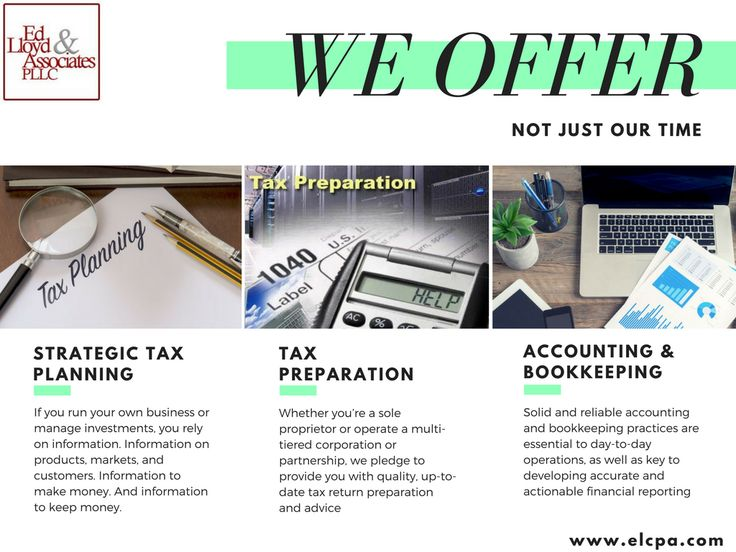 Tax Accounting Services