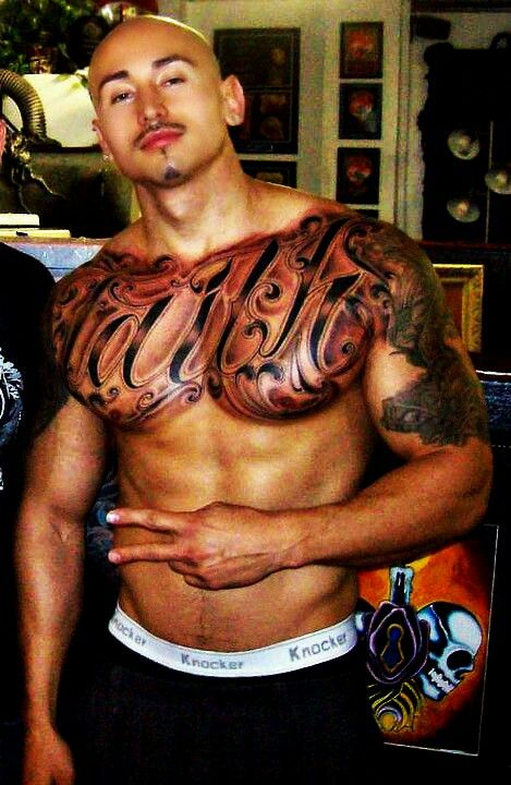 Excellent Naked mexican with tattoos would