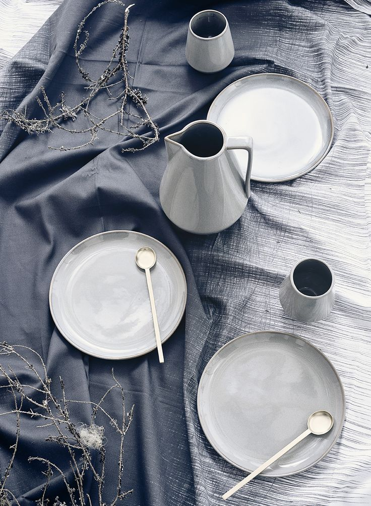 Ferm Living Neu Tableware, perfect for every occasion. Modern rustic design