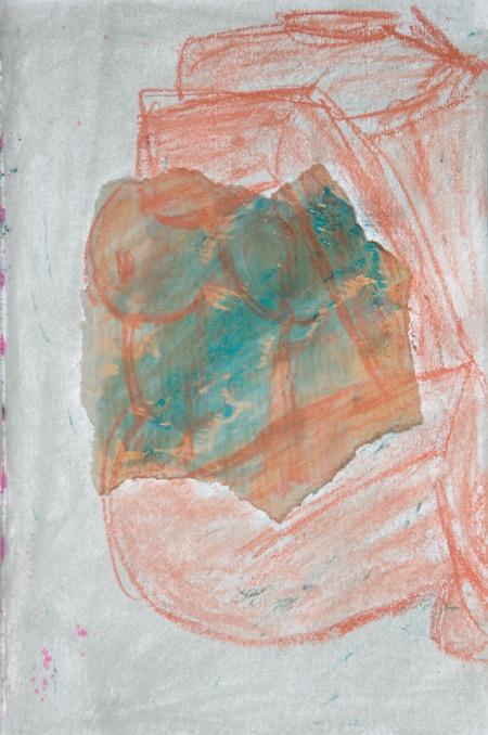 Life sculpture study 4, Christina Ballard