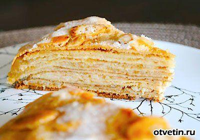 Блиный торт с яблоками кухарка.ру