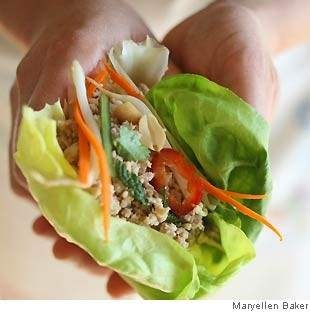 Thai chicken wraps | Food | Pinterest | Thai Chicken, Chicken Wraps ...