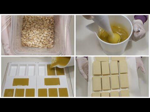 SAPONE ALL'AVENA - Oatmeal soap - YouTube