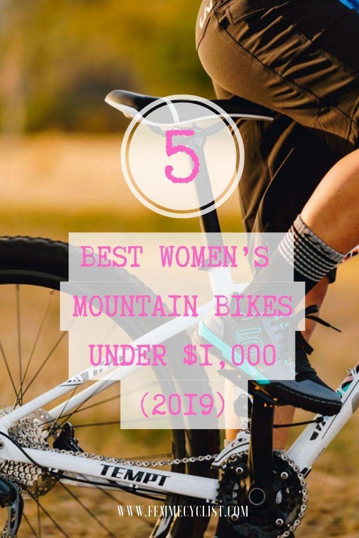 5 Best Women S Mountain Bikes Under 1 000 Mountain Biking
