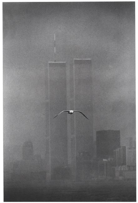 LOUIS STETTNER, 1979, 'TWIN TOWERS, WORLD TRADE CENTER', NEW YORK