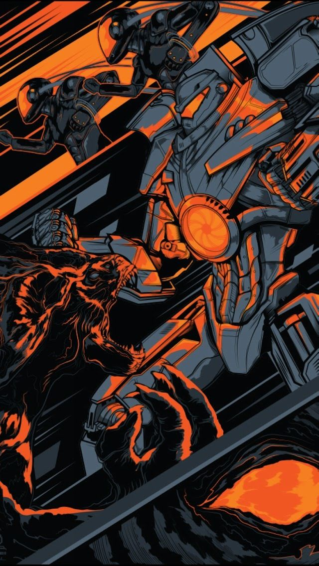 PACIFIC RIM - Collection of Cool Original Poster Art - Part 2