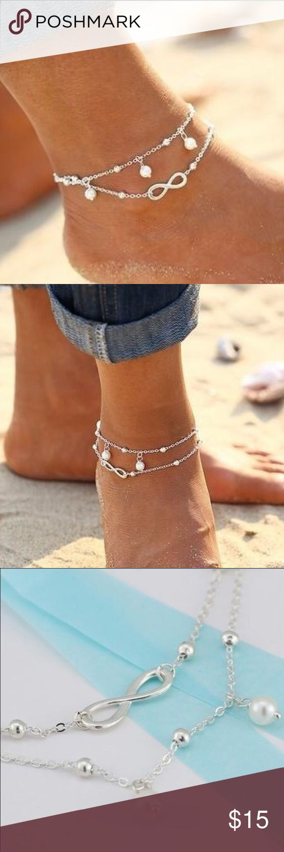 in on tone african both beads and with mens of that black size silver is made anklet cord wood brown adjustable pin bracelet ankle waterproof