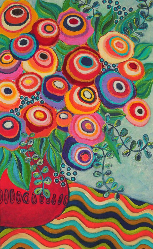 Liesel Malan - acrylic on canvas