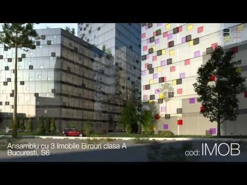 Ansamblu cu 3 Imobile Birouri clasa A Bucuresti, Sector 6