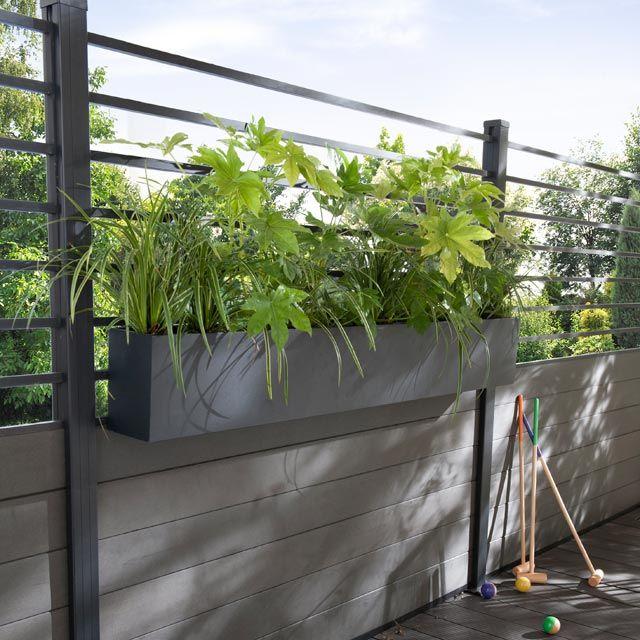 blooma concept panneau composable jardini re idaho treillis 177x84cm jardini re 165x16x24cm 289. Black Bedroom Furniture Sets. Home Design Ideas