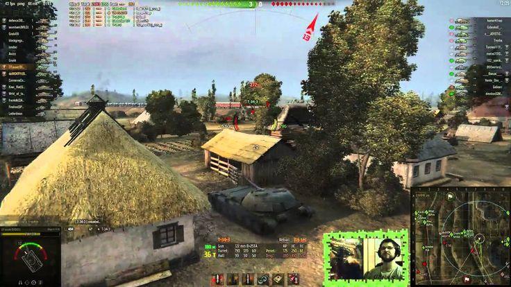 World of Tanks / Invisibru Object 416 decent battle