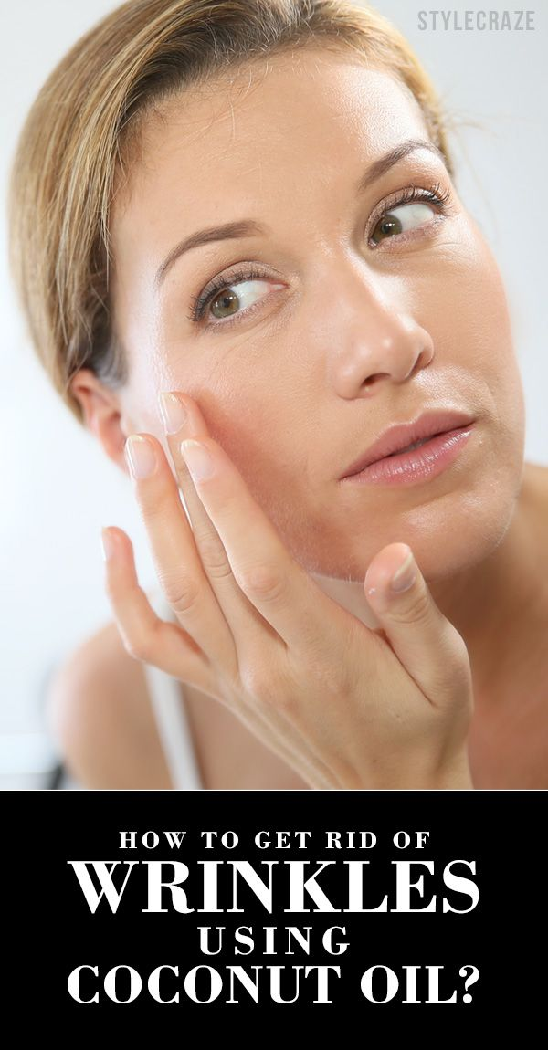 How To Get Rid Of Wrinkles Using Coconut Oil?