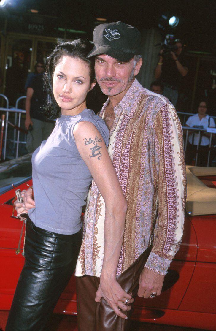 Pin for Later: Wart ihr schockiert von diesen Promi-Pärchen? Angelina Jolie und Billy Bob Thornton, 2000
