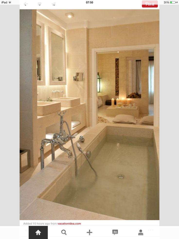 Bathtub is so serine.