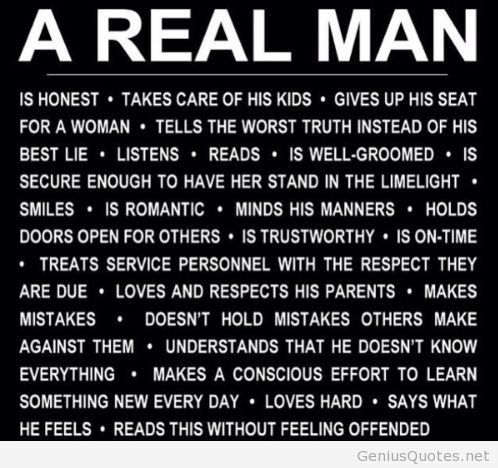 Being A Man Of God Real Men Quotes Ambassador Of