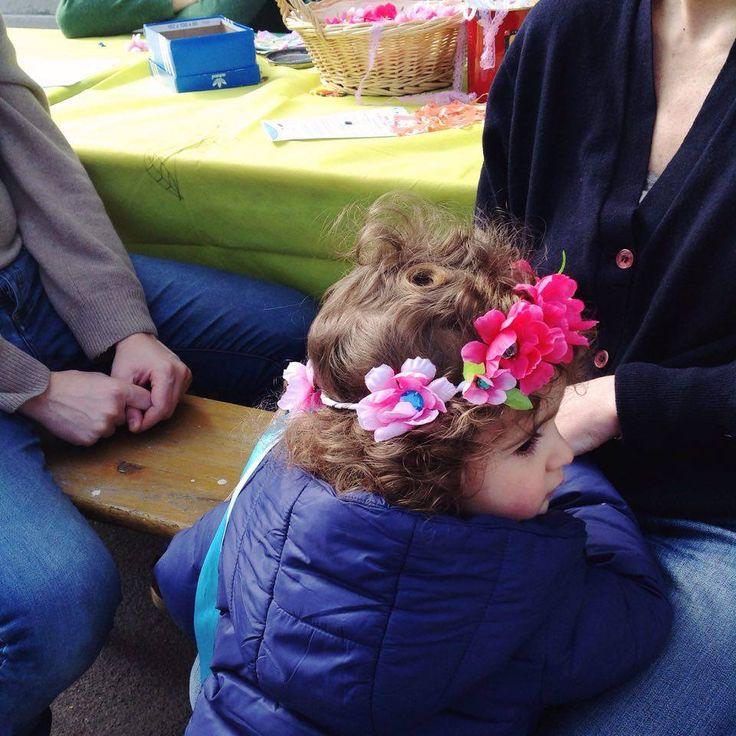 A princess with Flora's crown..