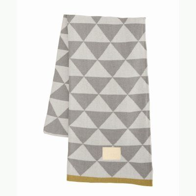 Remix filt, grå i gruppen Textil / Plädar & Filtar hos RUM21 AB (115030)