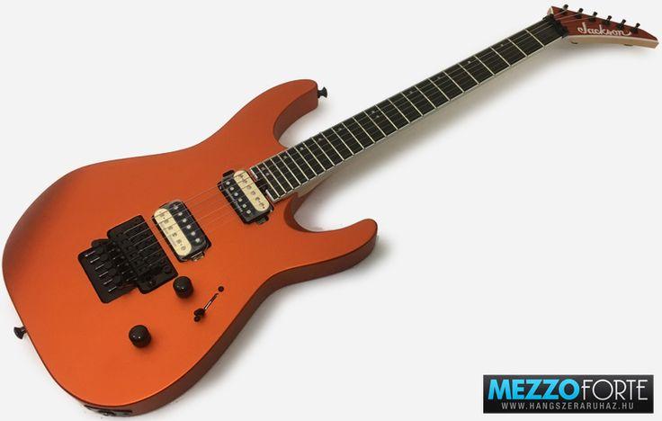 Jackson DK2 Pro Series Dinky, Satin Orange Blaze