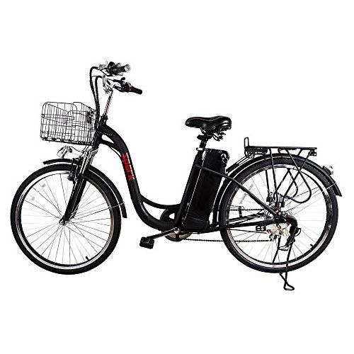 Naktospark City Electric Bicycle Ebike With 36v 10ah Lithium