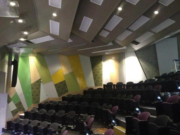 QUT - Kelvin Grove. Lecture Room