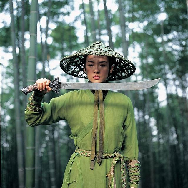 house of flying daggers green dresses 6 by Abraxas3d, via Flickr