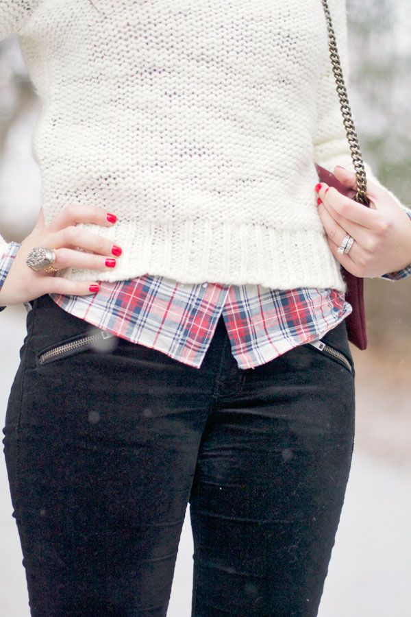 my everyday style: 3 ways to style plaid this winter!