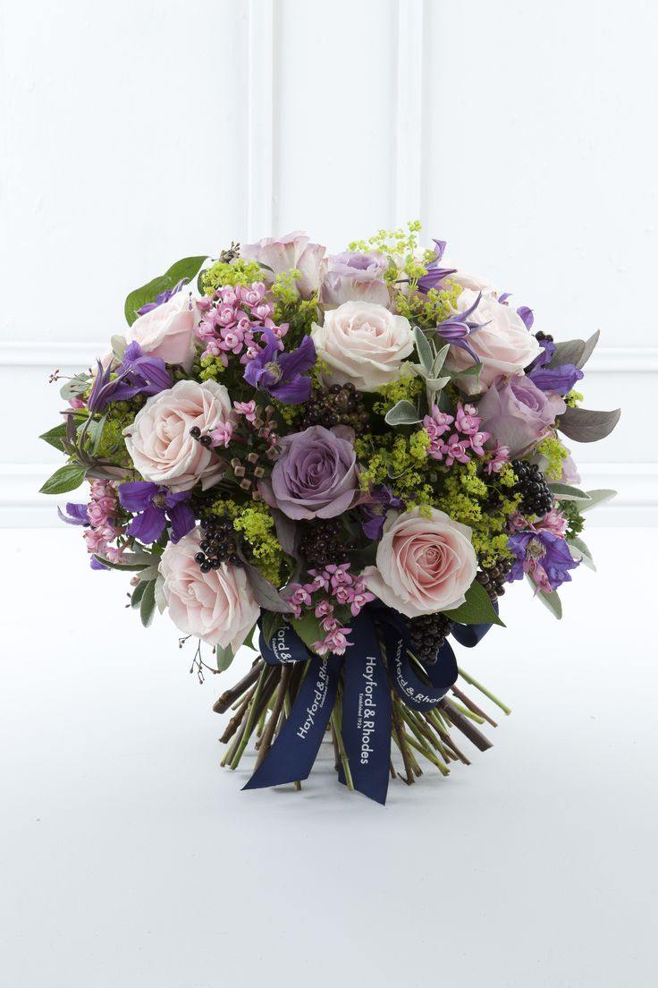 The Raspberry Sorbet Bouquet -  Hayford and Rhodes award-winning florist