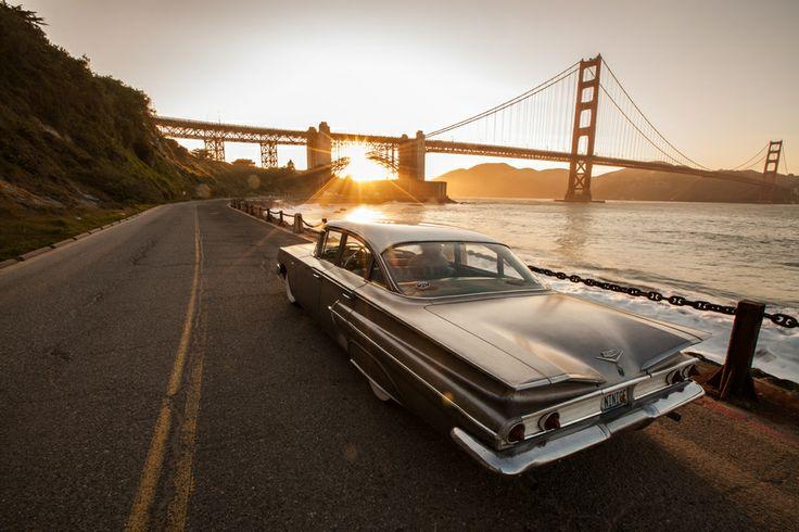"""""""The Bridge"""" by david bouchat, via 500px.: Photos, Golden Gate Bridge, Car Photography, Places, Bridges, Gates, San Francisco"""